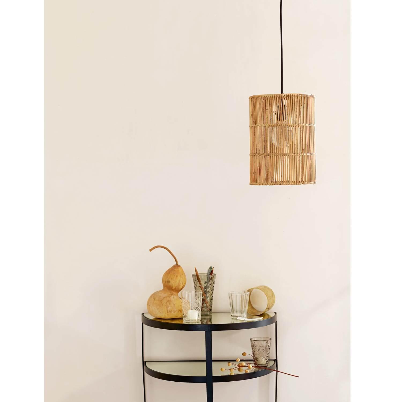 Tine K Home – Lampe Rattan TUBE