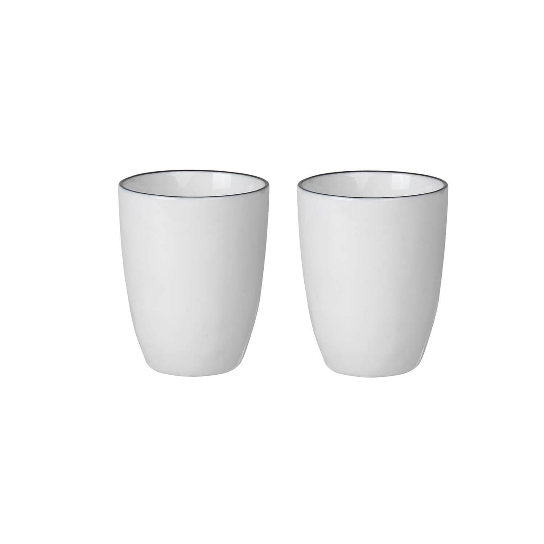 Broste Copenhagen – Geschirr SALT 2er Set Espressobecher