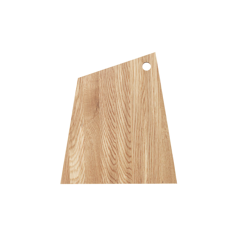 ferm living asymmetric schneidbrett medium ca b38 x h33 cm. Black Bedroom Furniture Sets. Home Design Ideas