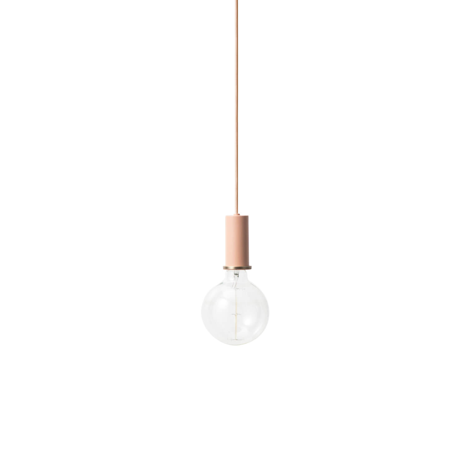 Ferm LIVING – COLLECT Lighting – Pendelleuchte Kurz – Rose