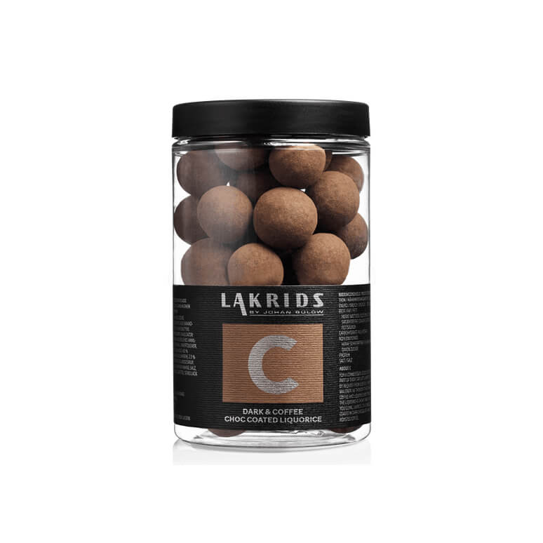 Lakrids – C Dark & Coffee Choc Coated Liquorice – Kaffee Lakritz Regular