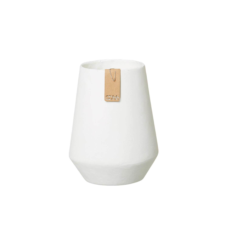 OOhh Kollektion – Vase Tokyo – Weiß S