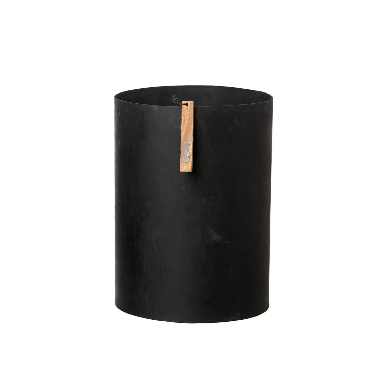 OOhh Kollektion – Vase ROME – Schwarz L