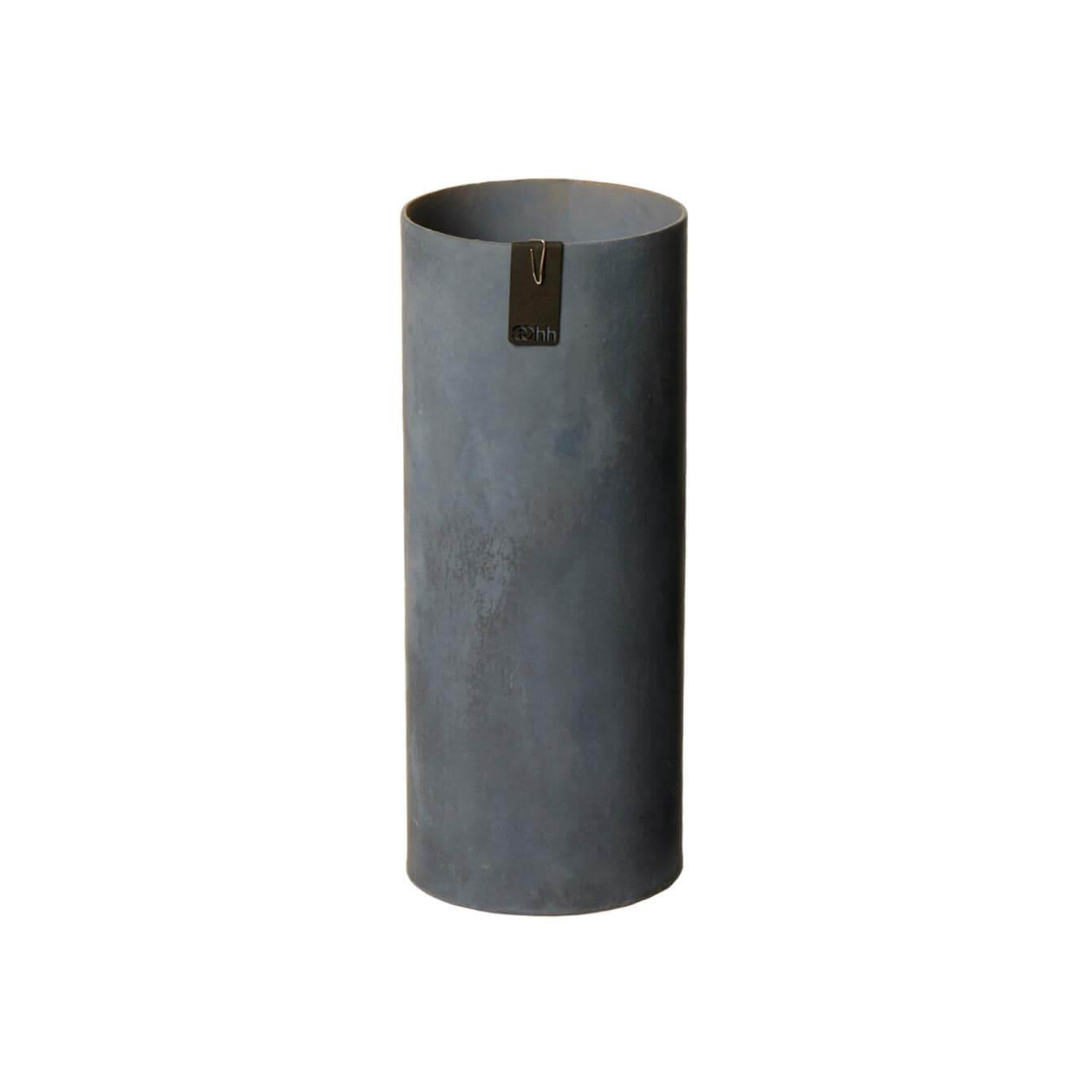 OOhh Kollektion – Vase Tokyo Cylinder – Dunkelgrau