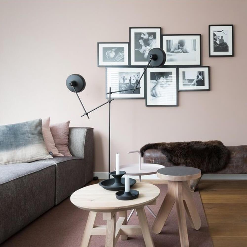 vtwonen kerzenhalter schwarz ca 23 x 10 cm. Black Bedroom Furniture Sets. Home Design Ideas
