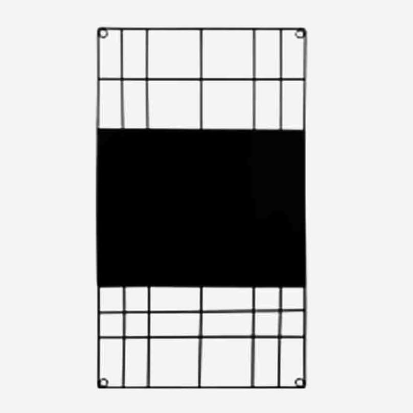 vtwonen – Memo-Board mit Magnettafel –Schwarz – L
