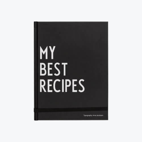Design Letters – Rezeptbuch MY BEST RECIPES