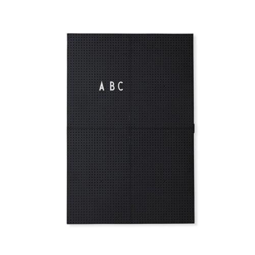 Design Letters – Pinnwand Message Board – Schwarz – A3