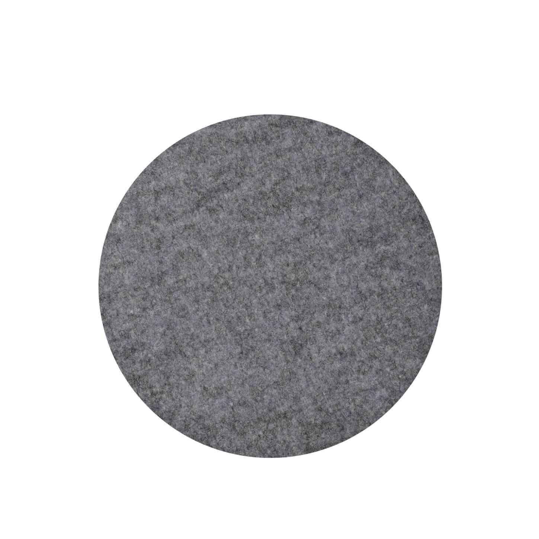 hey sign sitzauflage filz anthrazit rund ca 35 cm. Black Bedroom Furniture Sets. Home Design Ideas
