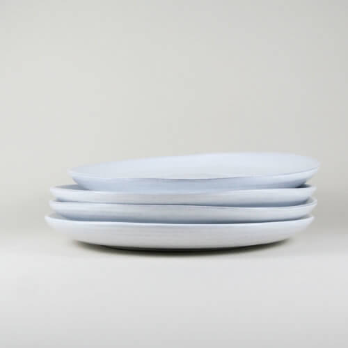 Tine K Home – 4er Set DELI Teller – Weiß