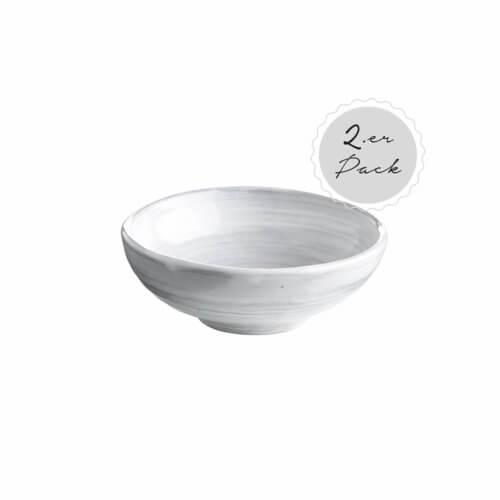 Tine K Home – Geschirr DELI 2er Set Schüsseln – Weiß