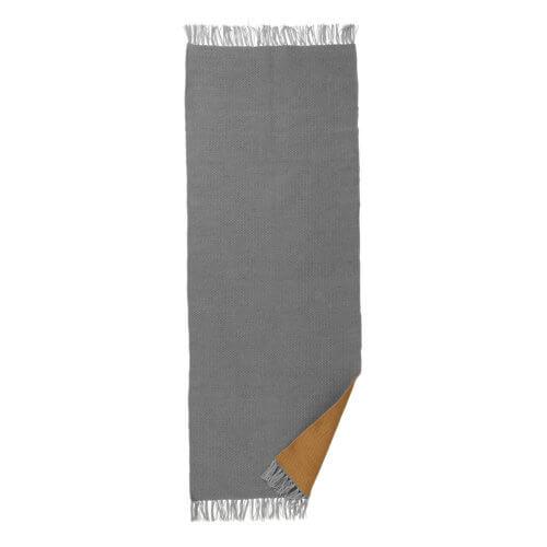 Ferm Living – Teppich Normad – Grau-Curry – M