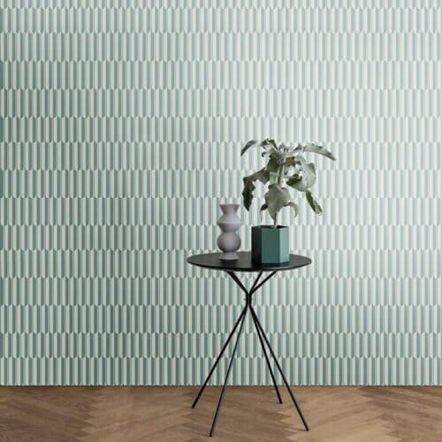 Ferm Living – Blumentopf XL – Hexagon – Grün