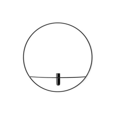 MENU POV Vase Circle Schwarz