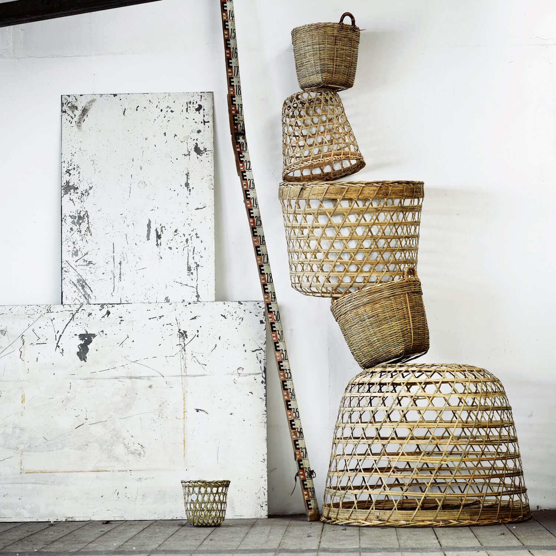 tine k home lampe palmbl tter basopen natur. Black Bedroom Furniture Sets. Home Design Ideas