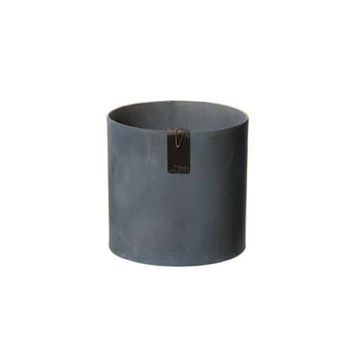 OOhh Kollektion – Blumentopf Tokyo Cylinder – Dunkelgrau S