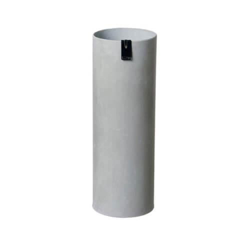 OOhh Kollektion – Vase Tokyo Cylinder – Grau L