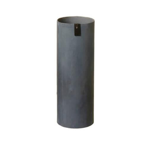 OOhh Kollektion – Vase Tokyo Cylinder – Dunkelgrau L