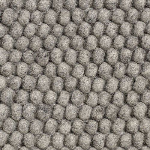 HAY – PEAS Teppich – Mittelgrau – 80 x 140 cm