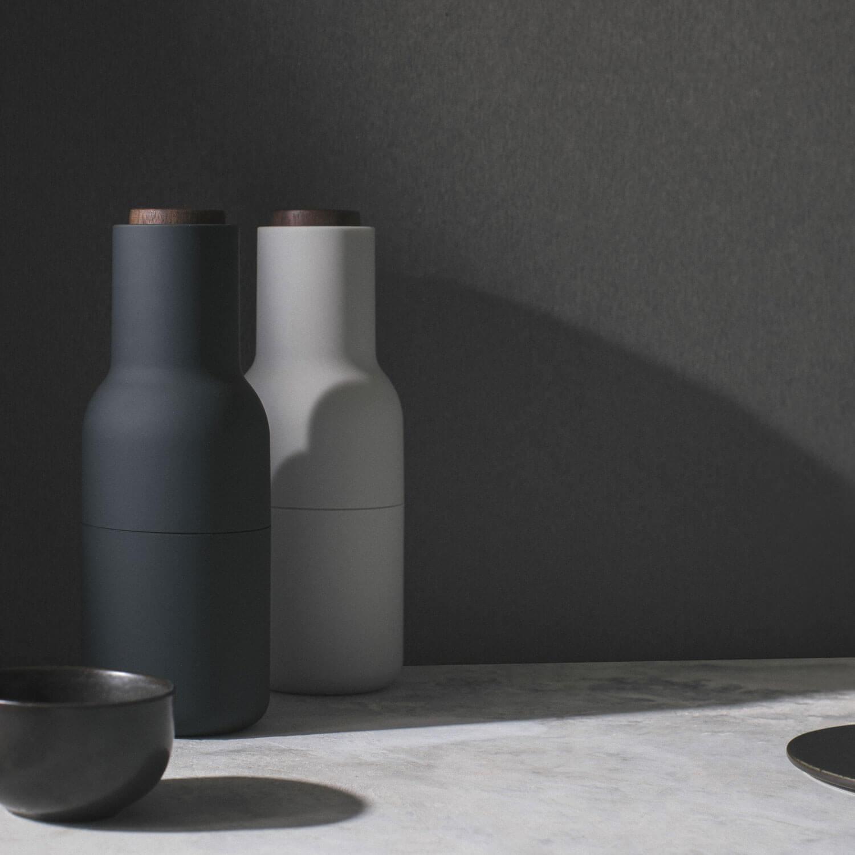 menu bottle grinders 2er set ash carbon wallnuss. Black Bedroom Furniture Sets. Home Design Ideas