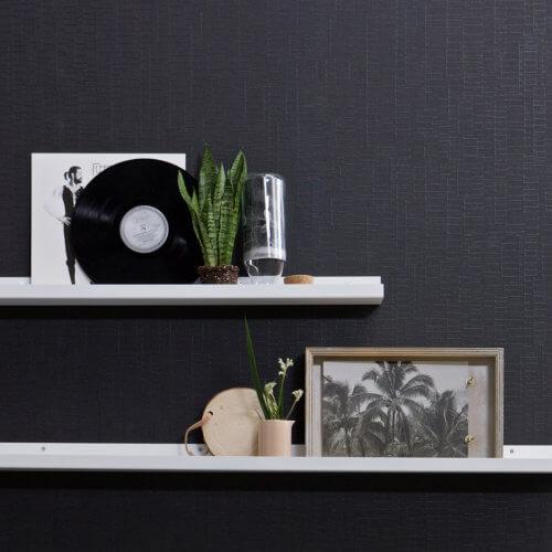 Fotorahmenregal RAVI – Metall Weiß