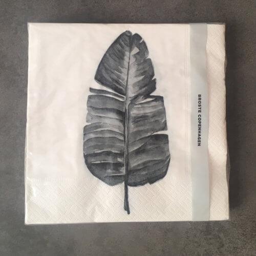 Broste Copenhagen – Papierserviette LEAF