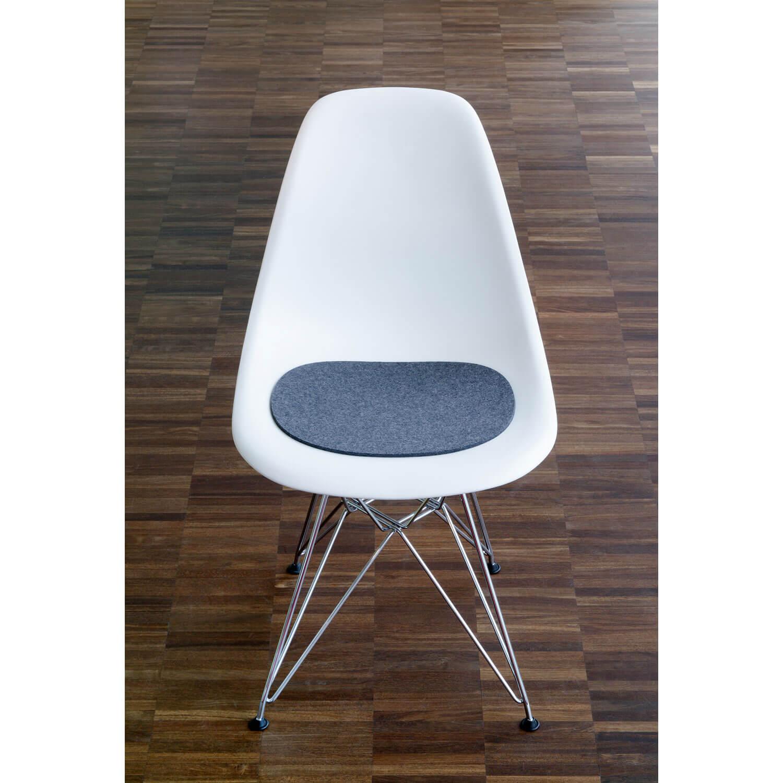 hey sign sitzauflage eames plastic sidechair anthrazit. Black Bedroom Furniture Sets. Home Design Ideas