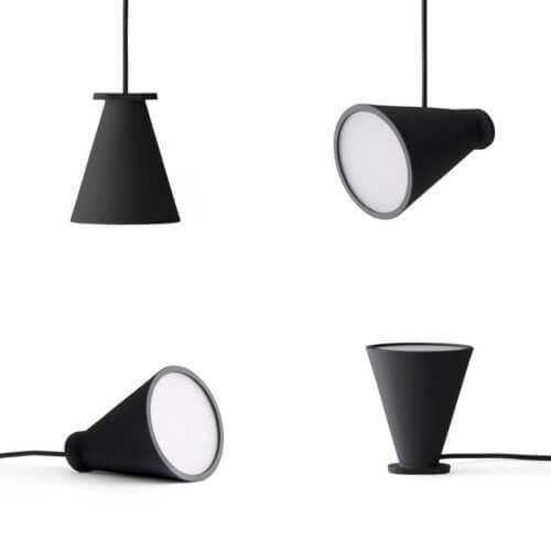 MENU – Bollard Lampe – Schwarz