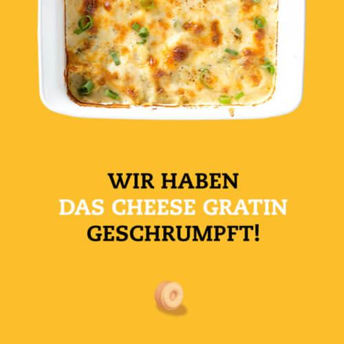 Smicies – Gute Gewissensbisse – Cheese Gratin Bites