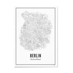 Print –Stadtplan Berlin – Poster