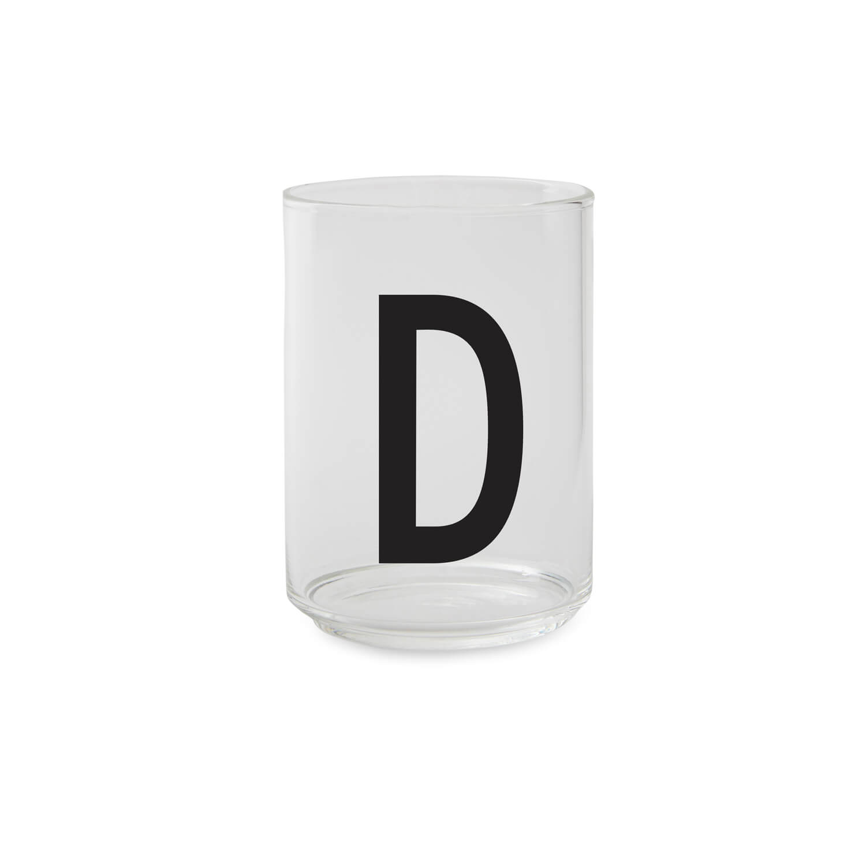 Design Letters – Trinkglas D