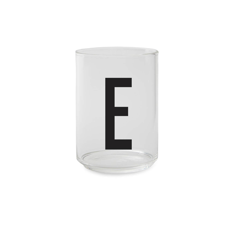 Design Letters – Trinkglas E