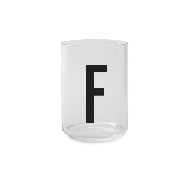 Design Letters – Trinkglas F