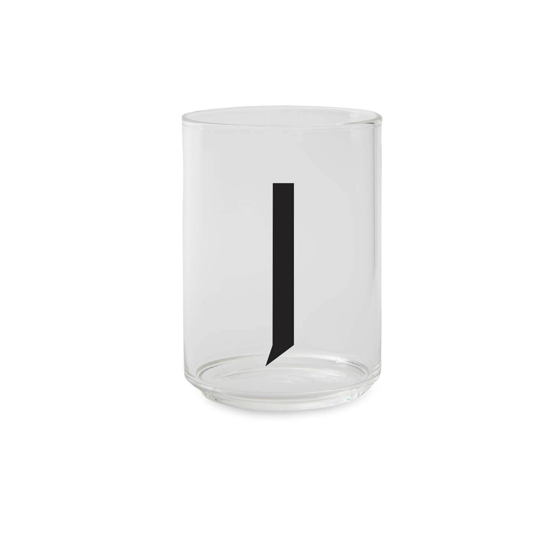 Design Letters – Trinkglas J