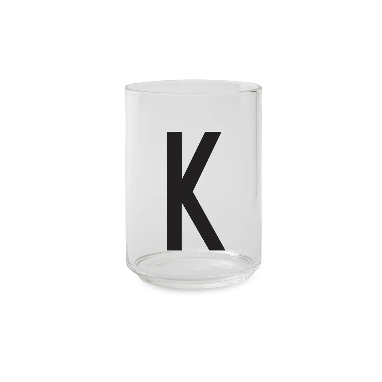 Design Letters – Trinkglas K