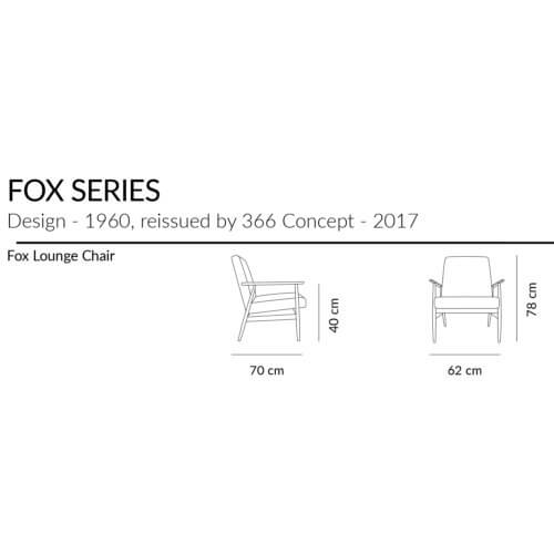 366 FOX Lounge Sessel
