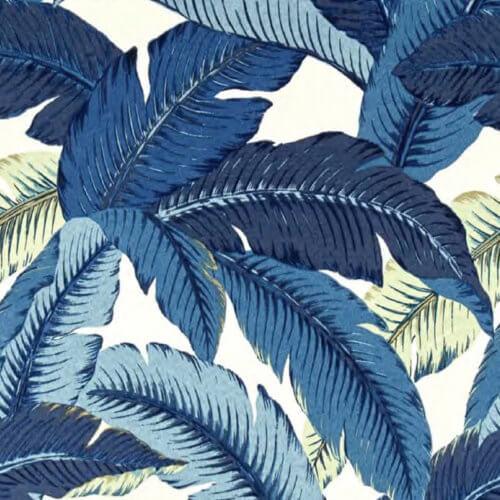 366 FOX Lounge Sessel – Kollektion Deco – Jungle Blue