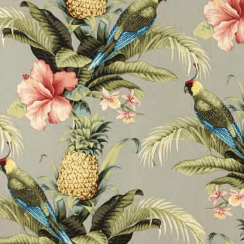 366 FOX Lounge Sessel – Kollektion Deco – Jungle Pineapple Beige