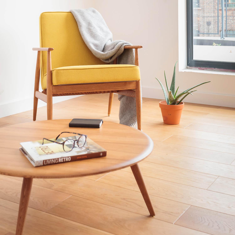 366 Fox Lounge Sessel Kollektion Velvet Retro Stuhl