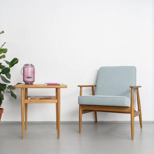 366 FOX Lounge Sessel – Kollektion Tweed