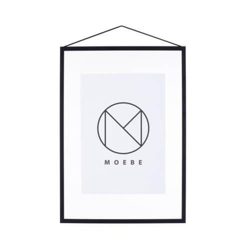 Moebe – Bilderrahmen Aluminium – Schwarz A3