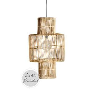 Tine K Home – Lampe Rattan HANGBIRD