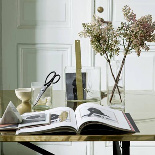 Tine K Home – Schere aus Metall – Schwarz