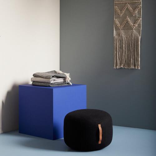 Hübsch Interior – Tagesdecke – Schwarz