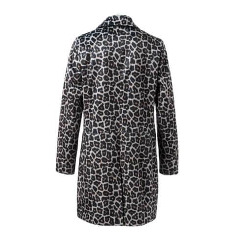 YAYA – Leopardmantel aus Kunstfell