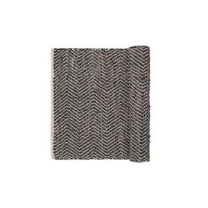 Broste Copenhagen – Teppich Zigzag – Chocolate