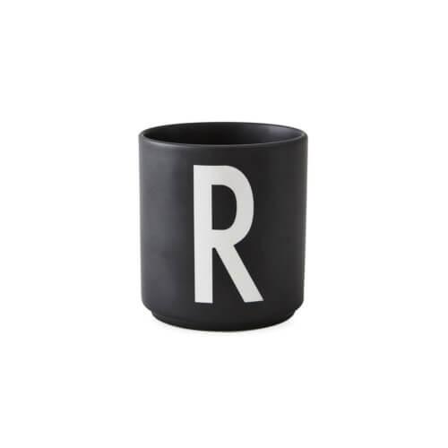 Design Letters Porzellan-Becher R Schwarz