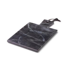 YAYA – Schwarzes Marmorbrett –Maße ca. 19 x 32 cm