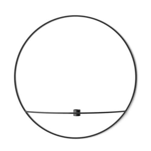 MENU – POV Kerzenhalter Circle – Schwarz L