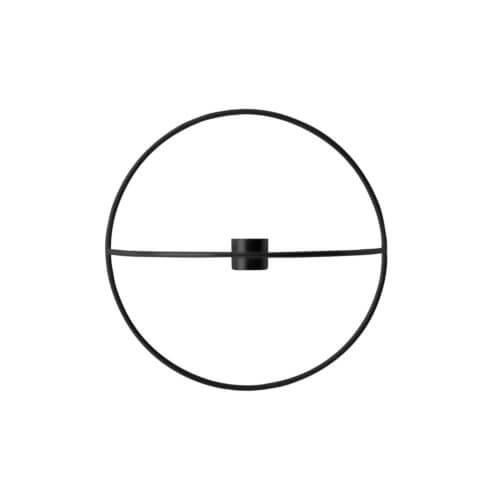 MENU – POV Kerzenhalter Circle – Schwarz S
